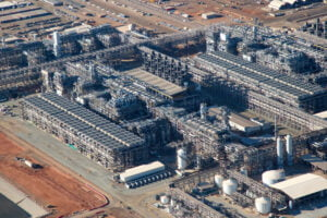 Aerial View of Wheatstone LNG Plant